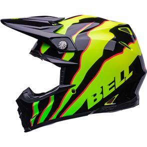 BELL MOTO HELMETS 2022 MOTO-9S FLEX CLAW BLACK/GREEN
